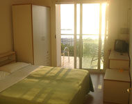 Rooms of Petit Hotel of  San Benedetto del Tronto